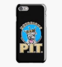 NOTORIOUS P.I.T. BY URB SUB iPhone Case/Skin