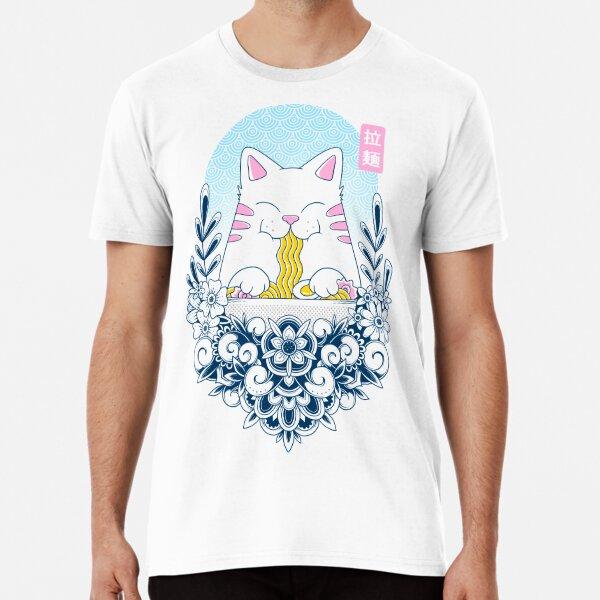 Ramen Cat Premium T-Shirt