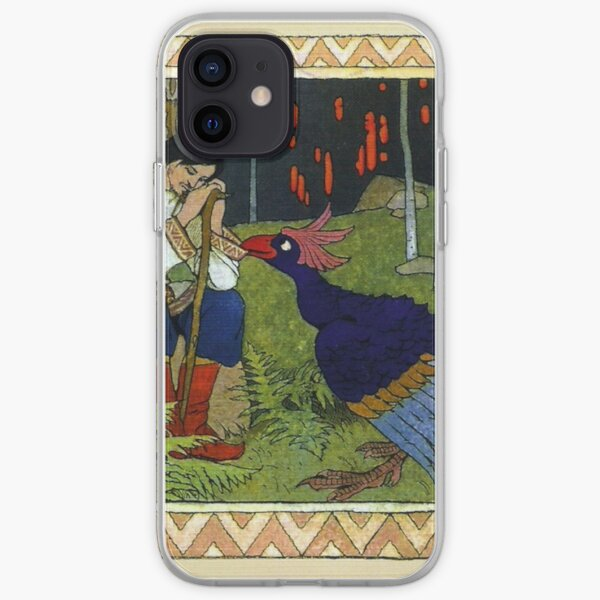 Ivan and the Firebird - Ivan Bilibin iPhone Soft Case
