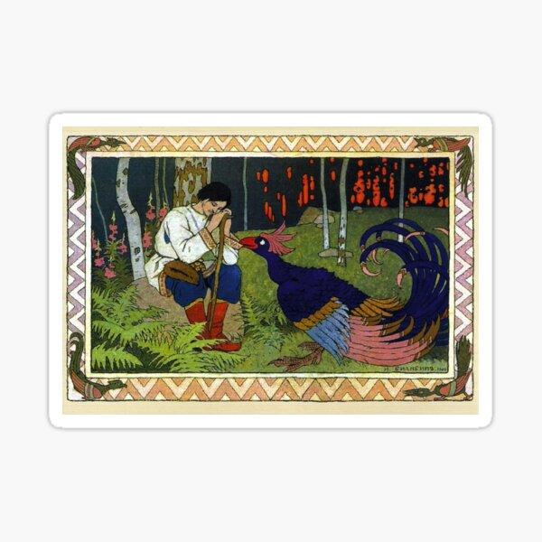 Ivan and the Firebird - Ivan Bilibin Sticker