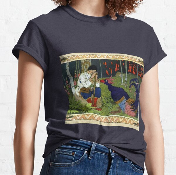 Ivan and the Firebird - Ivan Bilibin Classic T-Shirt