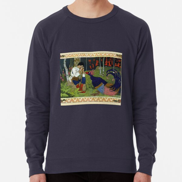 Ivan and the Firebird - Ivan Bilibin Lightweight Sweatshirt