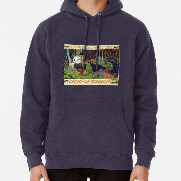 Ivan and the Firebird - Ivan Bilibin Pullover Hoodie