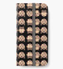No Evil Monkeys Emoji JoyPixels Sweet Monke iPhone Wallet/Case/Skin