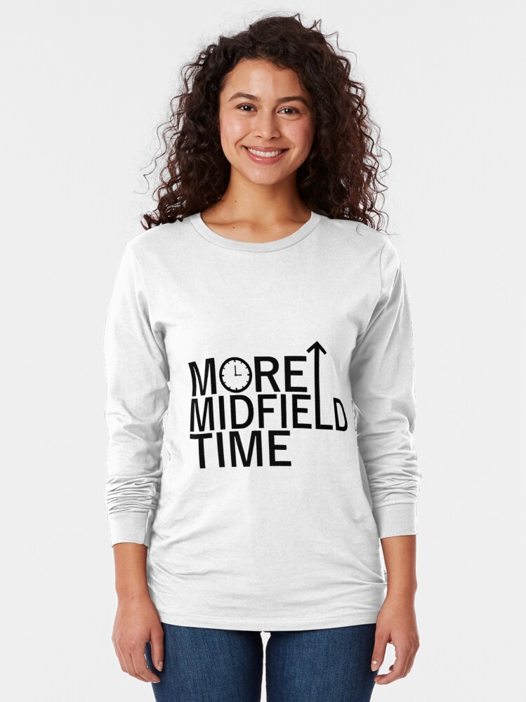 Alternate view of More Midfield Time  Long Sleeve T-Shirt