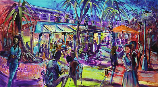 Cafe Le Monde, Noosa Jazz Festival by tola