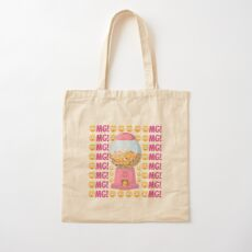 OMG Gumball Machine Emoji JoyPixels Cute Face Balls Cotton Tote Bag