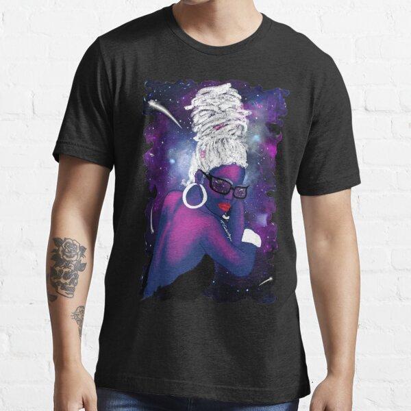 She is the Universe, natural hair, locs, dreadlocs Essential T-Shirt