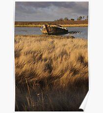 St Osyth wreck Poster
