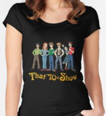 That '70s Show T-shirt Women's Fitted Scoop T-Shirt