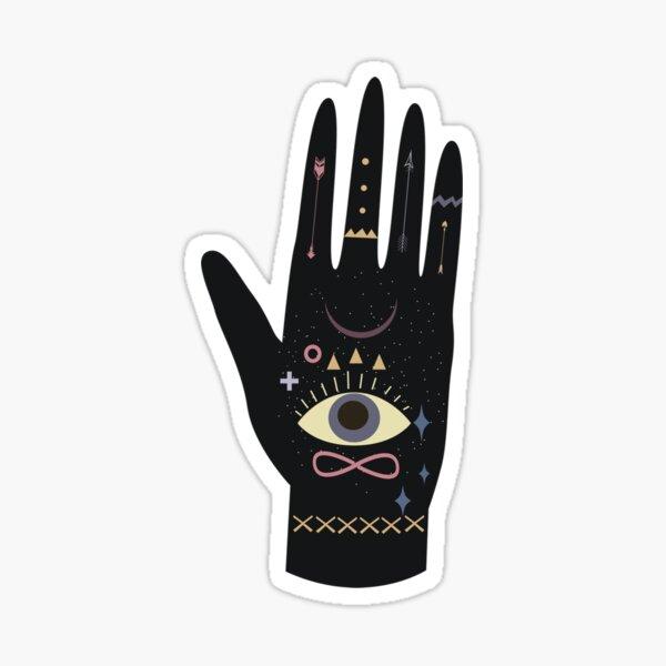 Palm Reader Sticker
