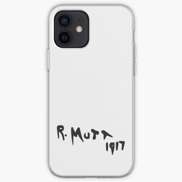 R. Mutt 1917, Fountain by Marcel Duchamp iPhone Soft Case