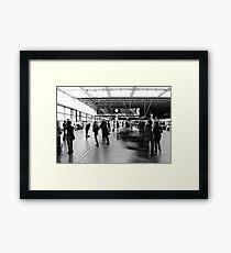 Daily Grind, St Pancras International Station, London Framed Print