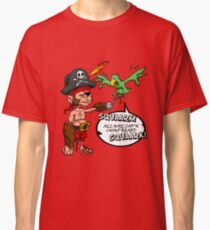 All Hail Cap'n Chimp Beard!  Classic T-Shirt