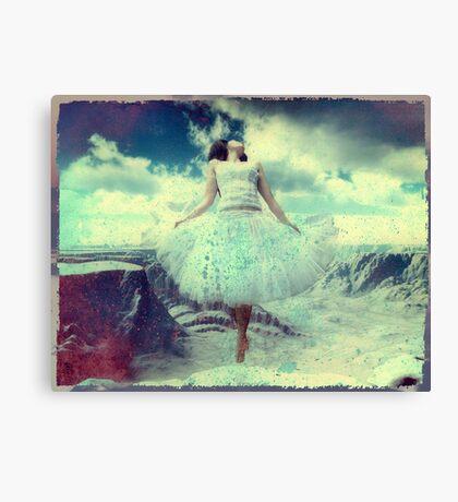 Leap Of Faith... Canvas Print
