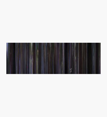 Moviebarcode: Donnie Darko (2001) Photographic Print