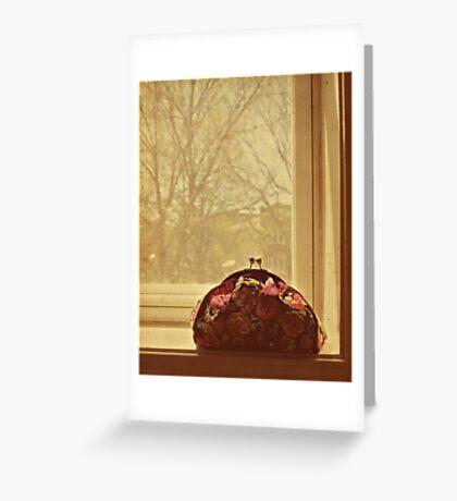grandma's handbag Greeting Card