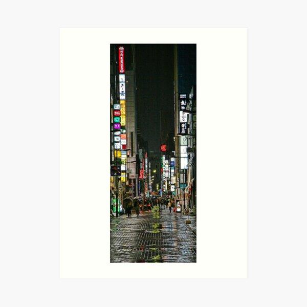 Tokyo Vertical Art Print