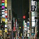 Tokyo Vertical by sparrowhawk