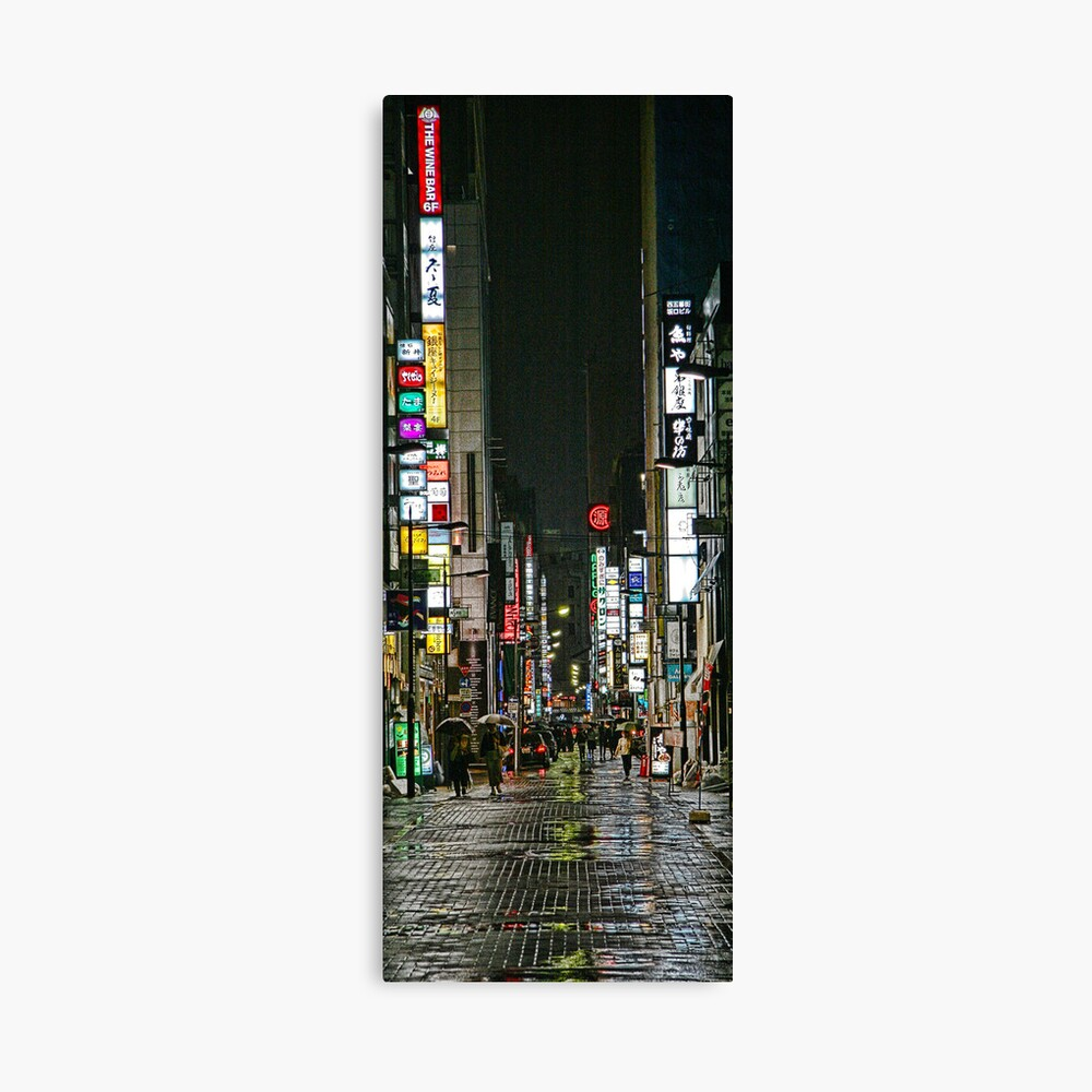 Tokyo Vertical Canvas Print