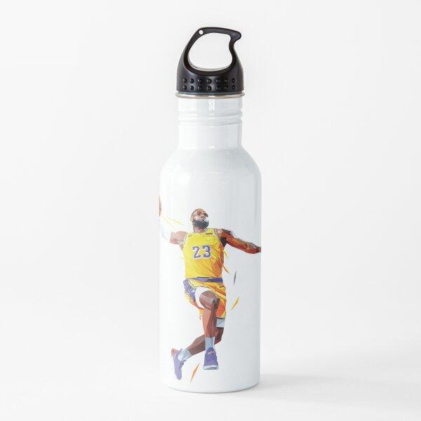 LeBron James lowpoly Water Bottle