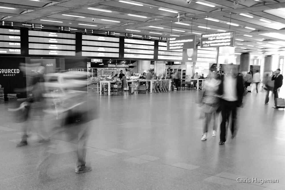 Departures, St Pancras International Station, London by Chris Hageman