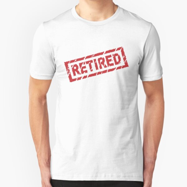 officially retired Slim Fit T-Shirt