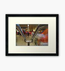 Tickethall, St Pancras Underground, London Framed Print