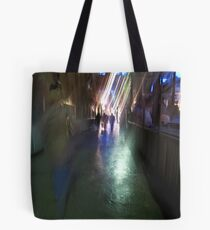 After the rain-Paris sidewalk, early evening Tote Bag