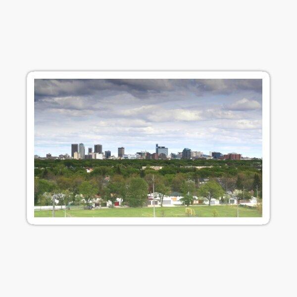 Winnipeg, Manitoba, Canada Sticker
