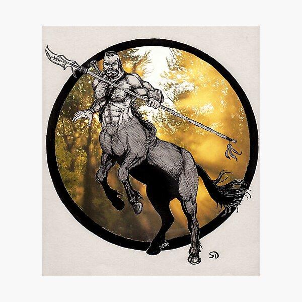 Centaur Photographic Print