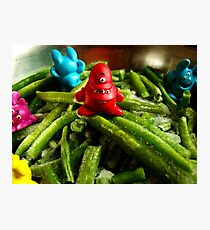 French beans... Photographic Print