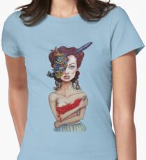 I Feel Fragile tee Womens Fitted T-Shirt