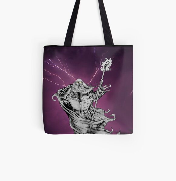Decay of a Wizard All Over Print Tote Bag