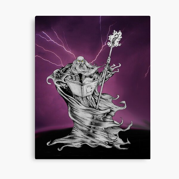 Decay of a Wizard Canvas Print