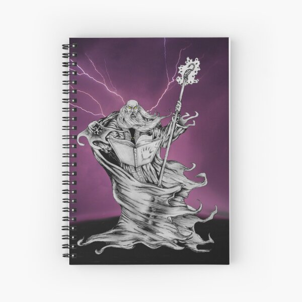 Decay of a Wizard Spiral Notebook