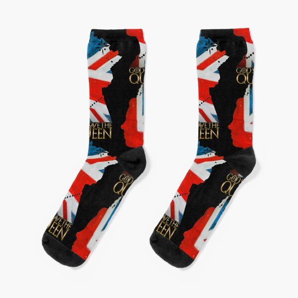 God save the Queen Socks