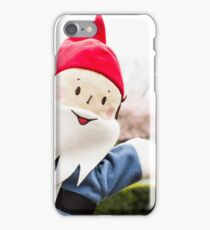 Sakura Fountain Gnome iPhone Case/Skin