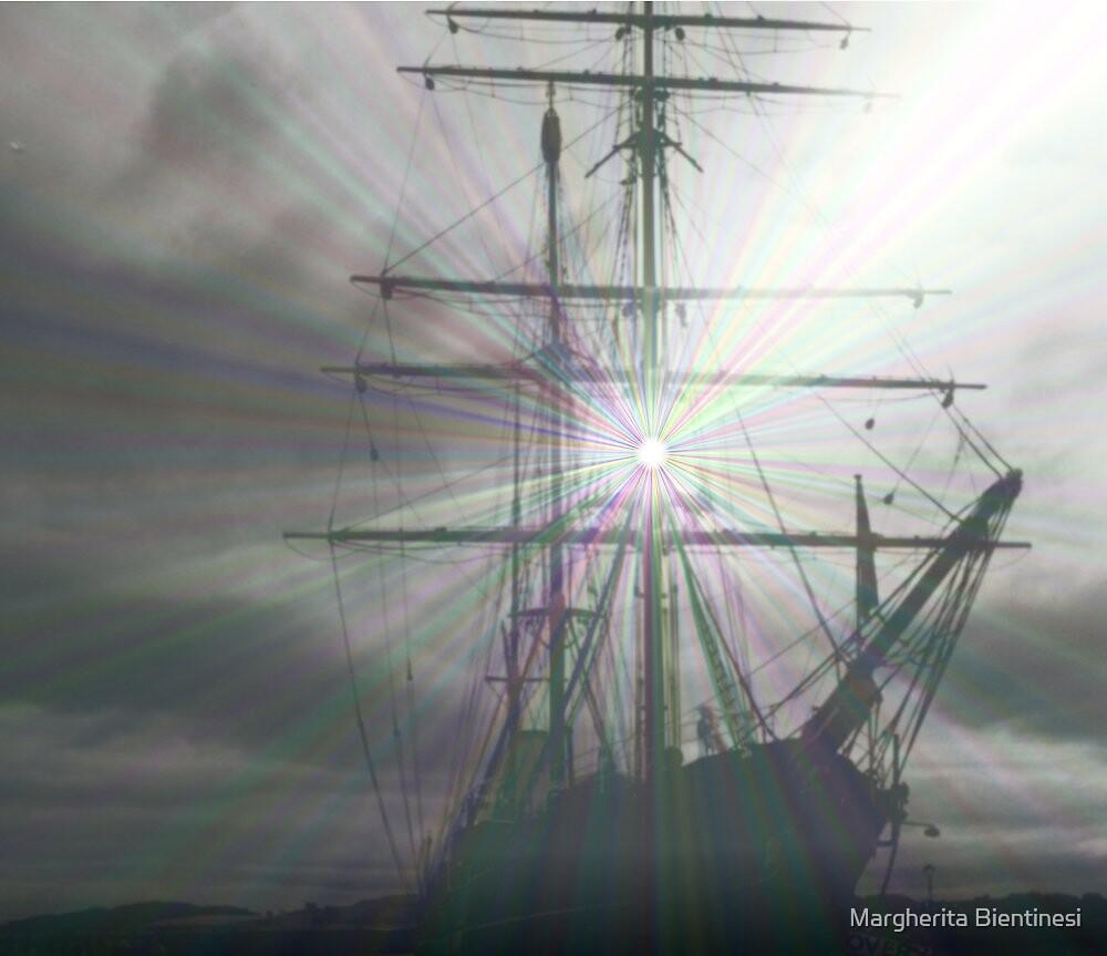 Grey ship  by Margherita Bientinesi