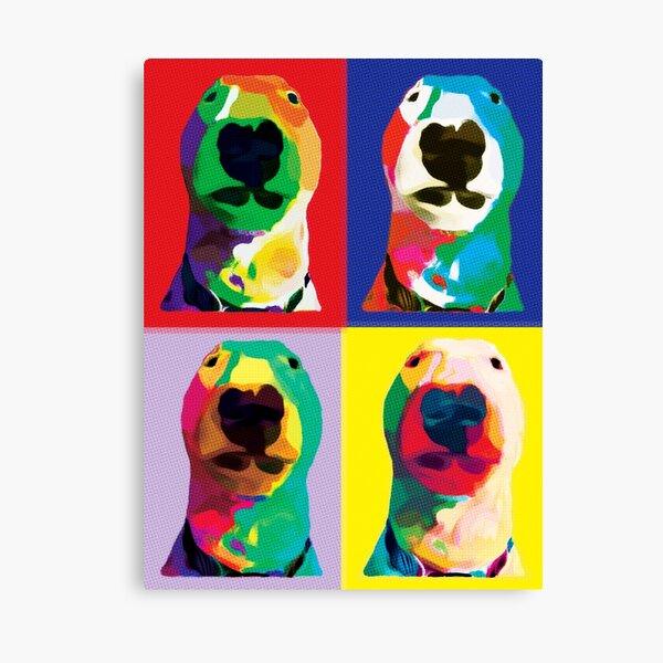 @PupperNelson: Pop Art Canvas Print