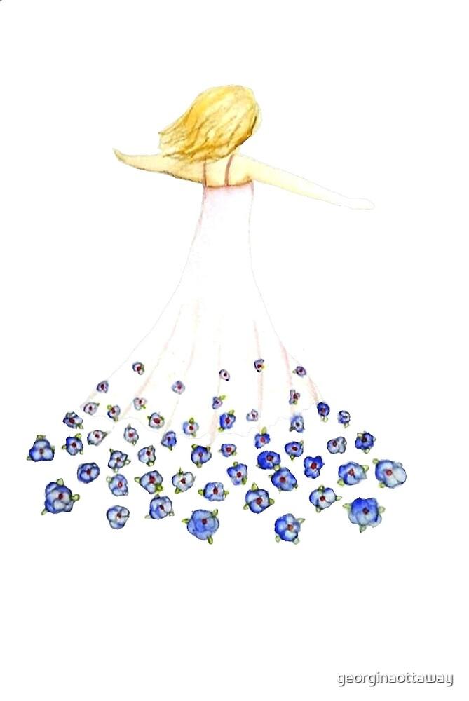 Flower girl by georginaottaway