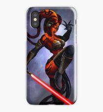 Darth Talon iPhone Case