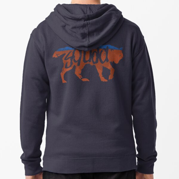 Wolf Squad Zipped Hoodie