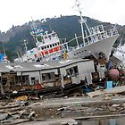 JAPAN  Earthquake, Tsunami scars (2) by yoshiaki nagashima