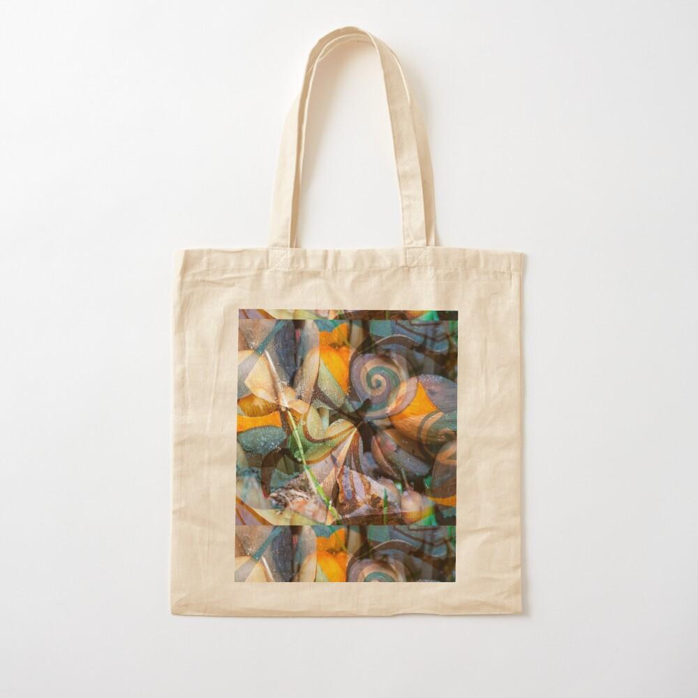 Soft Tones and Tranparencies Cotton Tote Bag