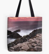 Giant's Causeway - Sunset Tote Bag