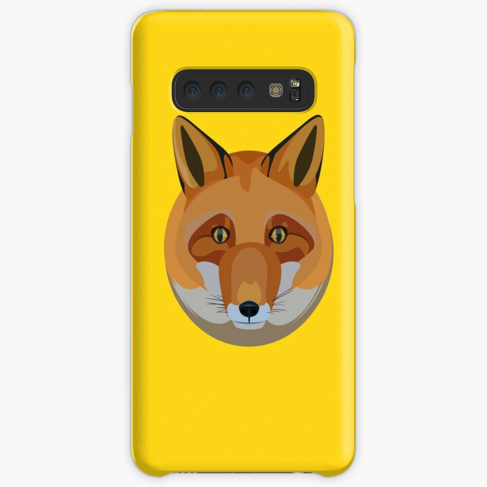 Fox head Case & Skin for Samsung Galaxy