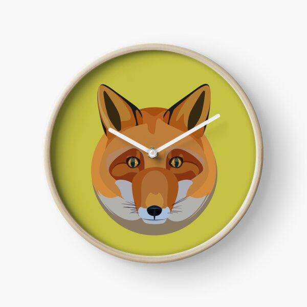 Fox head Clock