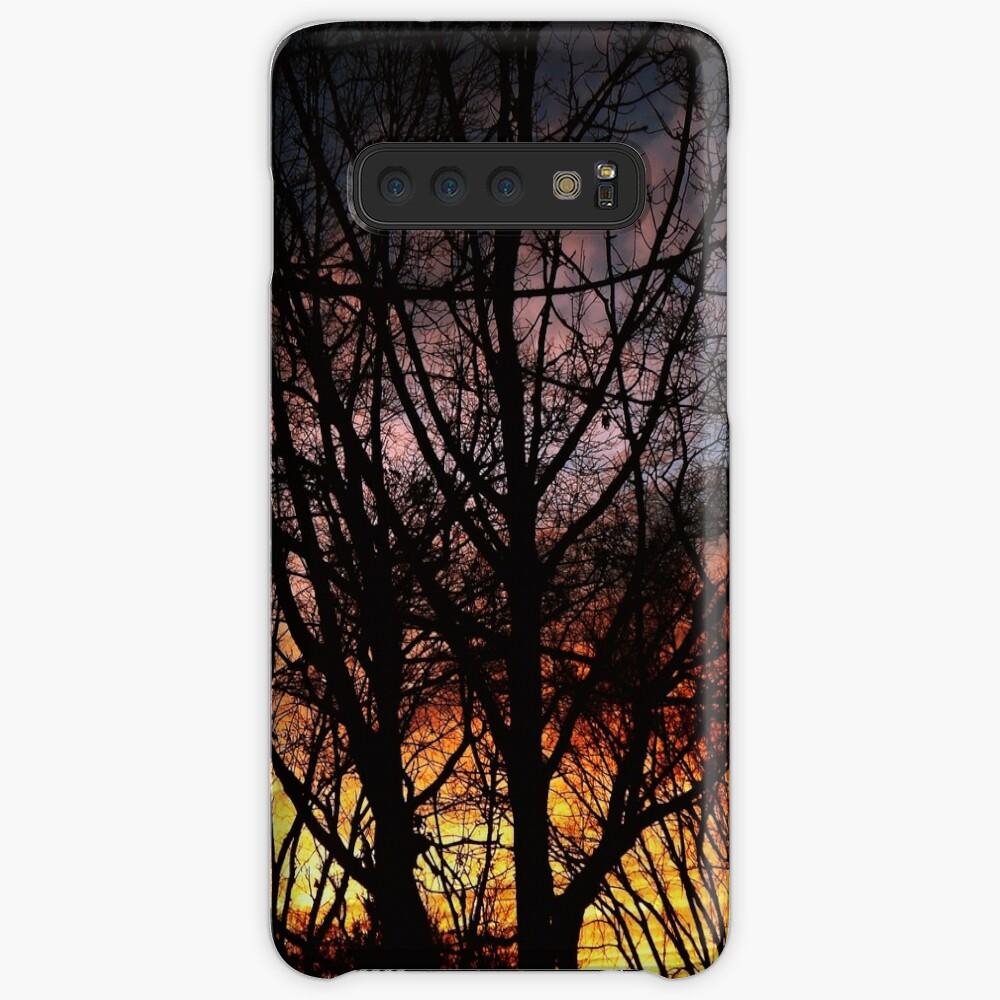 Winter Sunset #7826 Case & Skin for Samsung Galaxy
