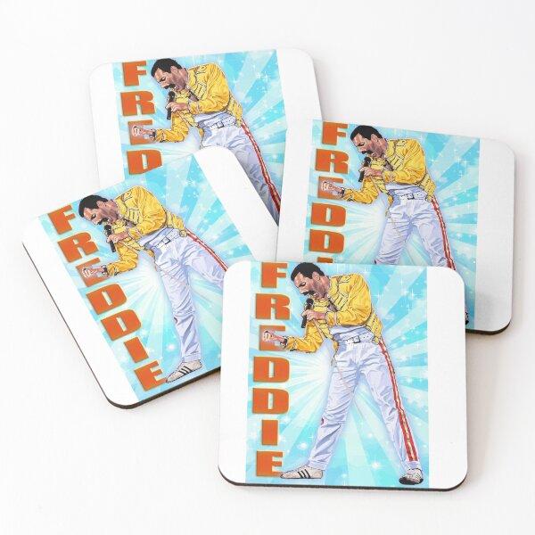 Freddie Coasters (Set of 4)